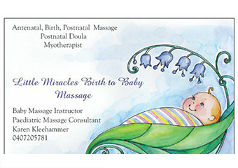 Click for more details about Little Miracles Birth To Baby Massage